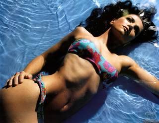 Bild von einem schönen und eleganten Natalia Oreiro
