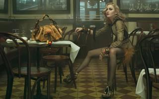 Carta da parati HD con la famosa Madonna