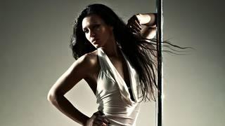 Stripper em um poste